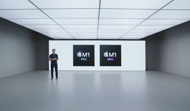 Apple annonce ses deux nouvelles puces, les M1 Pro et M1 Max