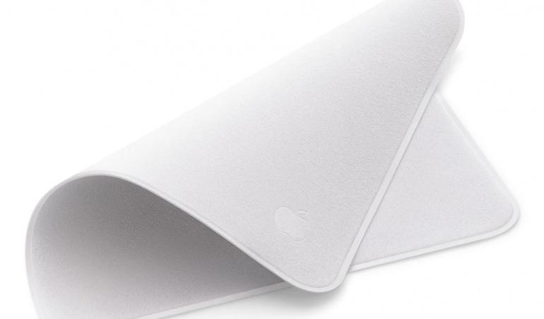 Voici le seul produit Apple qui n'avait pas été dévoilé en avance : une chiffonnette vendue à 25 euros